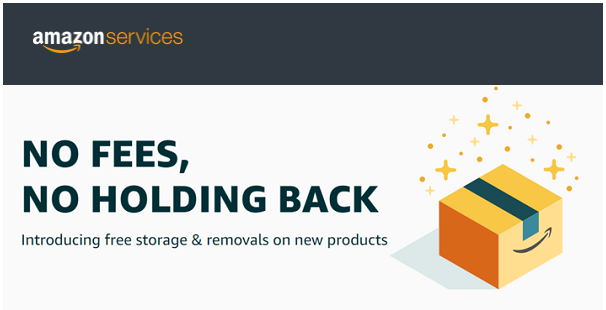 No monthly storage or removal fees